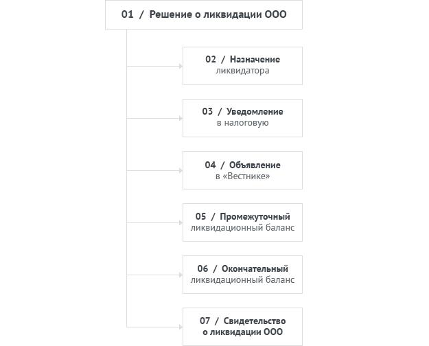 Пошаговая инструкция ликвидации нко 2018 год